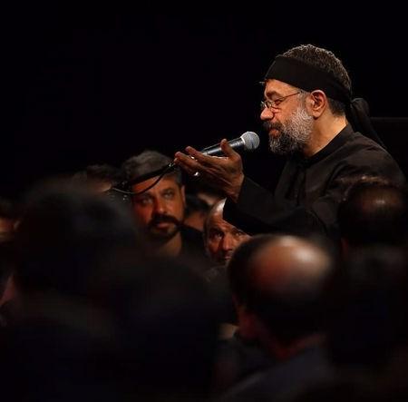نوحه من بیا و این دل شکسته را بخر محمود کریمی مداحی حسین
